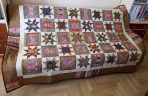 Wystawa patchworków Anny Sławińskiej w Kasztelu Szymbark niedaleko Gorlic