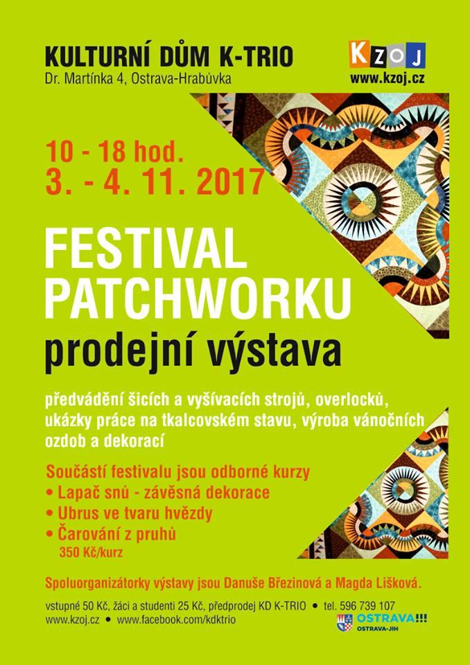 Festiwal Patchworku w Ostrawie (Czechy) @ Ostrawa | Kraj morawsko-śląski | Czechy